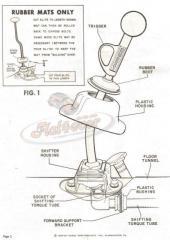Notice shifter Trigger Empi/Hurst