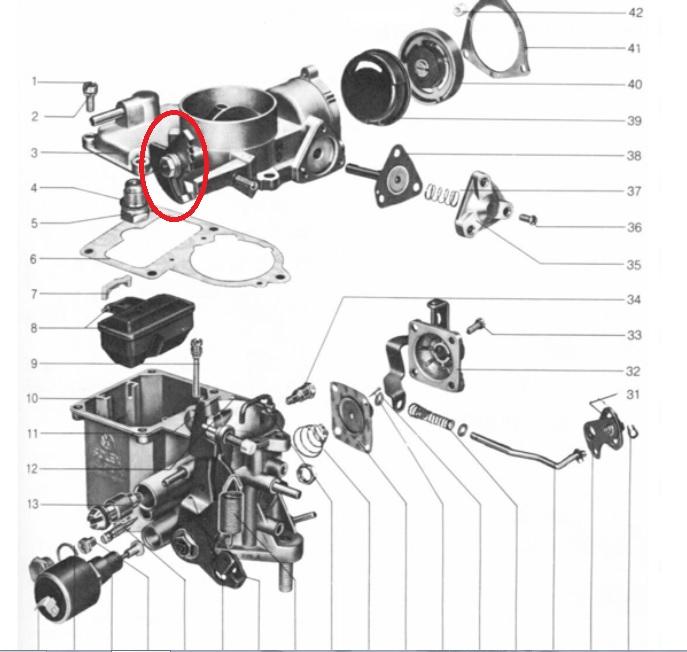 cox 1970 1200 - probl u00e8me de ralenti - moteurs origine   entretien et r u00e9paration