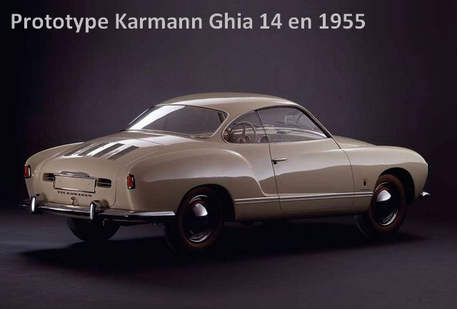 Prototype Karmann-Ghia 1955