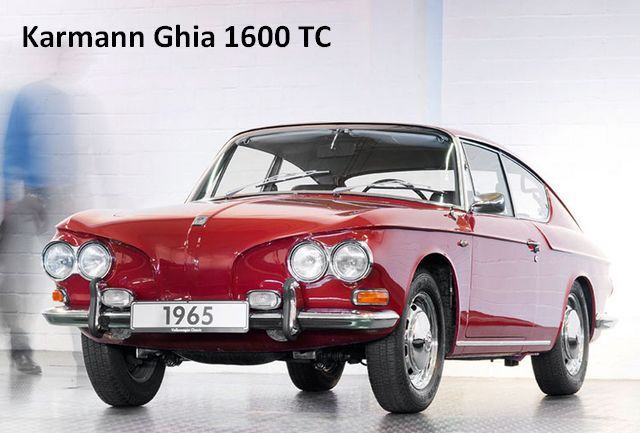 Prototype Karmann Ghia 1600 TC