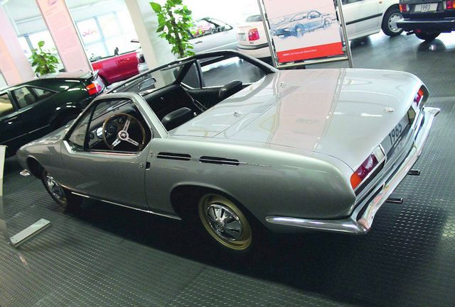Prototype Karmann Ghia by Giugiaro