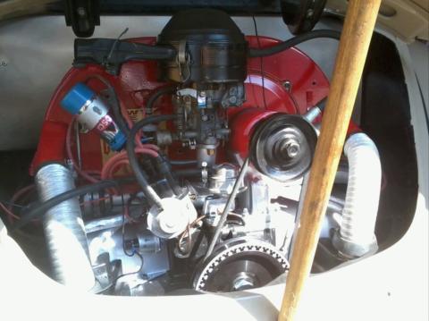 moteur en place