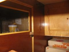 intérieur teardrop caravane