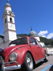 Agordo, Dolomites (Italie), août 2006