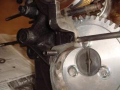 calage roue aac pignon vilebrequin