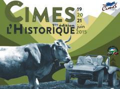 1er rallye des Cimes Historique