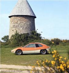 La VW Porsche 914 Murène by Heuliez