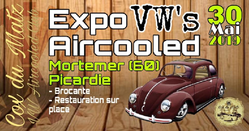 Expo VW Aircooled à Mortemer (60)