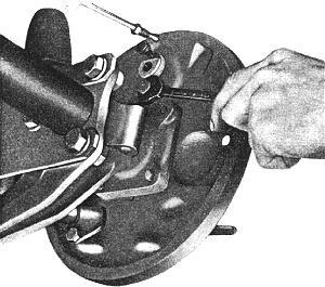 La dépose du cylindre récepteur