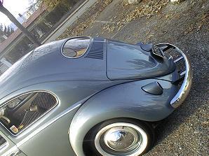 Coccinelle Ovale 1956 modèle deluxe à compresseur Judson