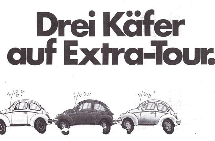 1973 – La Série Spéciale Drei Käfer auf Extra-Tour et Kiwy