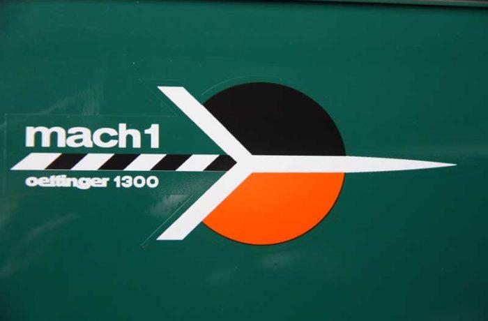 La Cox Mach1, première petite bombe officielle
