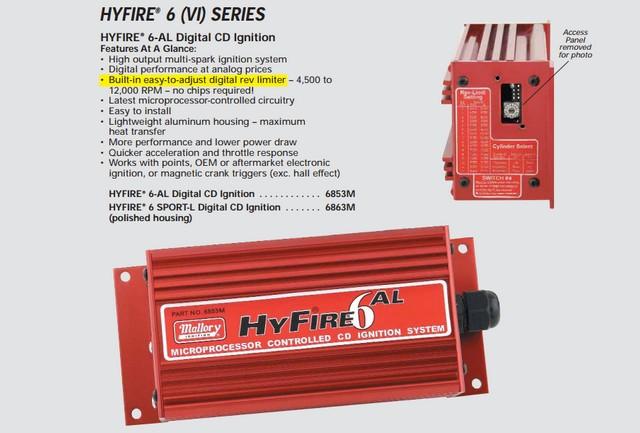 Installer un boitier d'allumage Mallory Hyfire VI AL