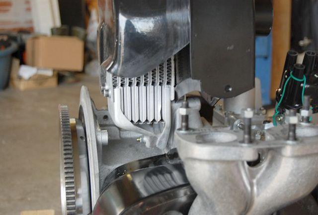 Installer un radiateur T4 sur un moteur T1