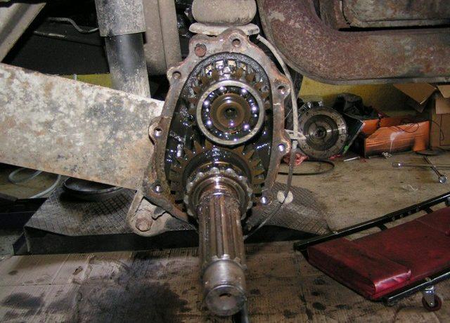 Remplacement des roulements de réducteurs 181 ou Combi