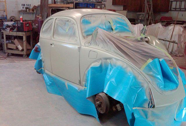La rénovation d'une VW fatiguée