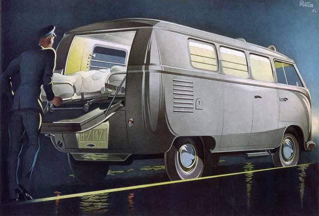 Ambulance Story Part.1: 1951 – 1958