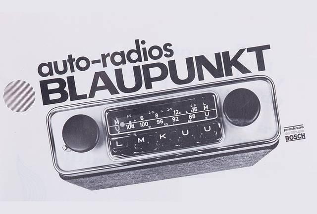 Les autoradios Blaupunkt 1953-1970