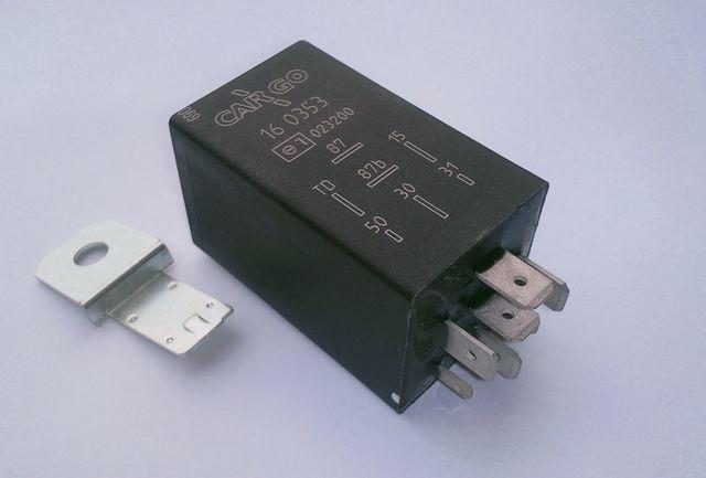 Pompe électrique : le relais tachymétrique