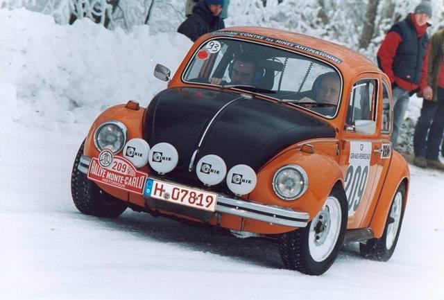 Les Flat4 au 5ème Rallye Historique de Monte-Carlo