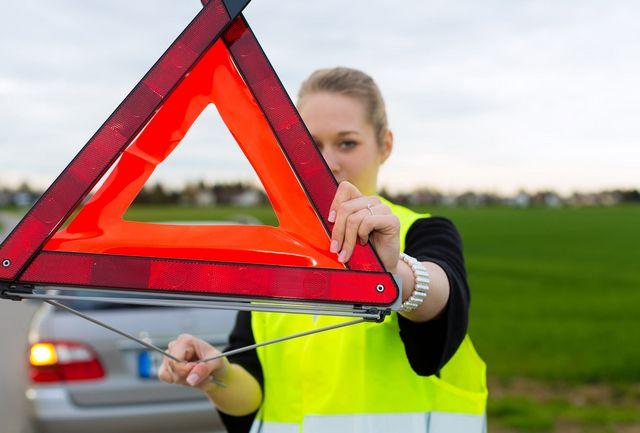 Gilet et triangle de sécurité obligatoires