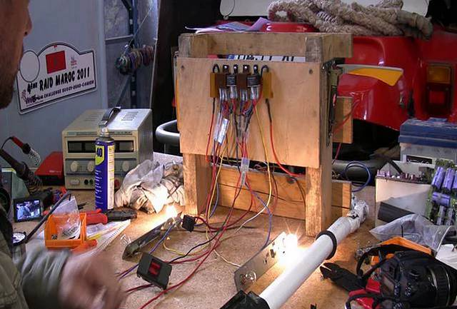 Vidéo :  Fleches et clignotants 12V pour Cox Ancienne