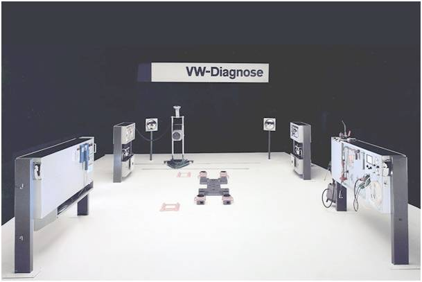 Station VW diagnose