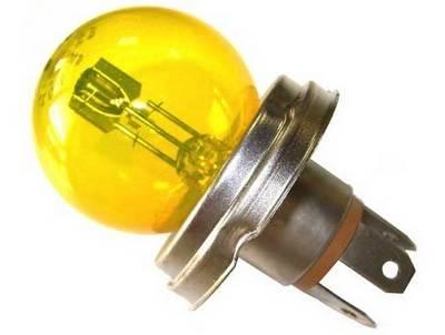 Ampoule P45 CE 12V jaune